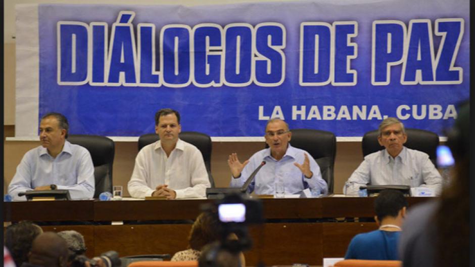 En septiembre de 2015 formalmente se iniciaron las pláticas de paz. (Foto: tiempo.hn)