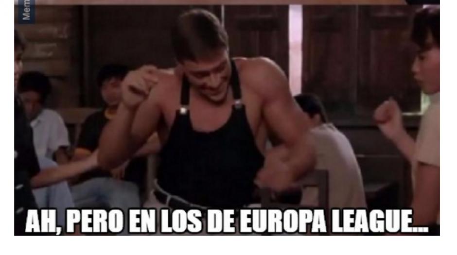 A diferencia de la Europa League donde no le fue tan mal. (Foto: MemeDeportes)