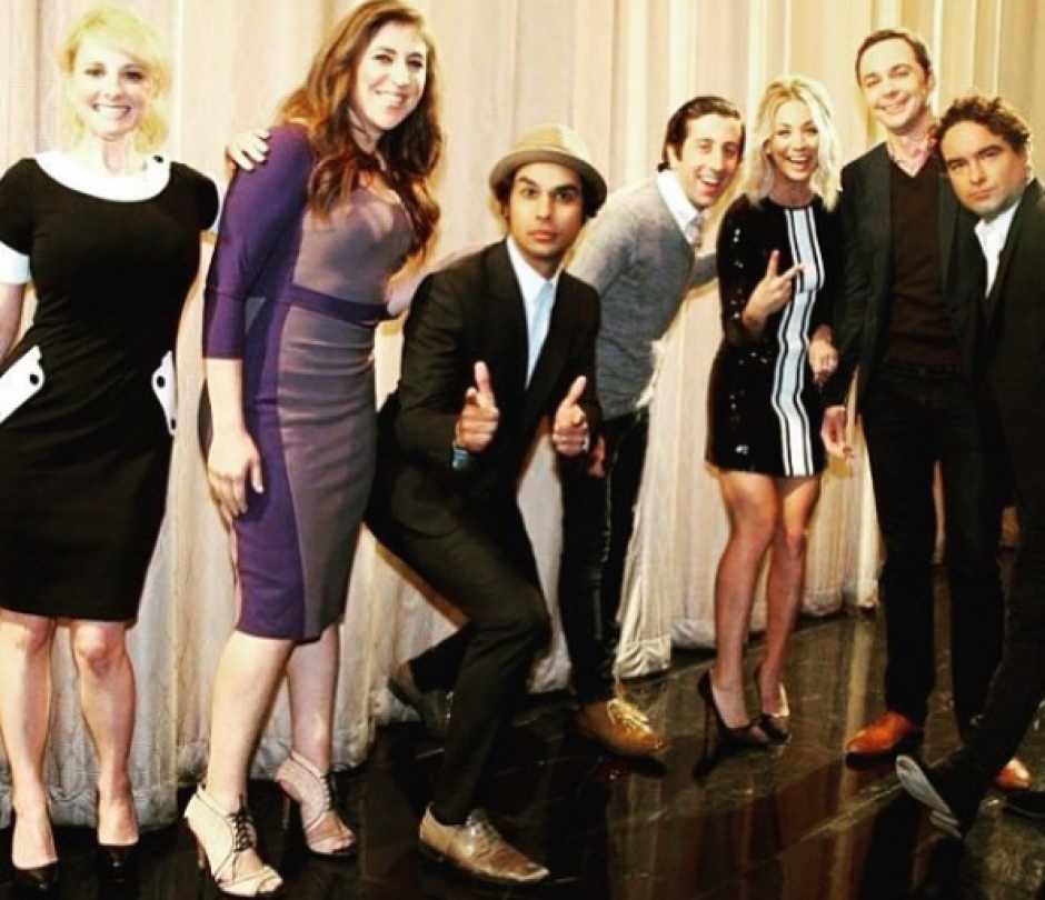 "El elenco de la serie ""The Big Bang Theory"". (Foto: Instagram/Jim Parsons)"