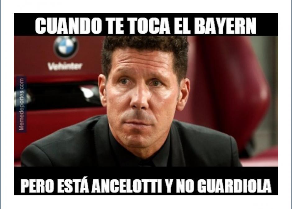 Al entrenador del Atlético de Madrid no le quedó un buen grupo. (Foto: MemeDeportes)