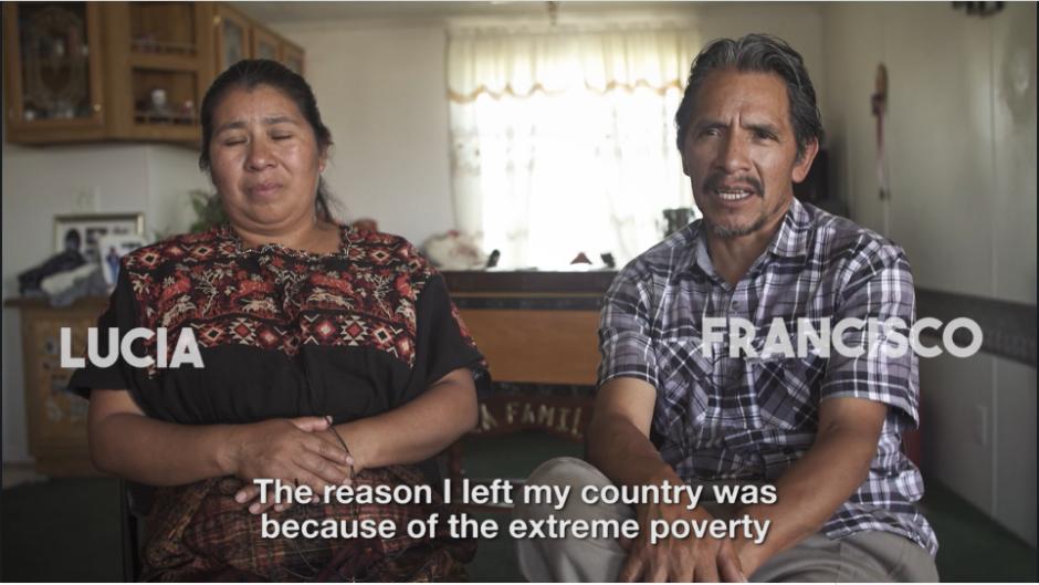 """La familia de Lucía y Francisco son los protagonistas del documental """"Our Heart Within Us"""". (Captura Vimeo)"""