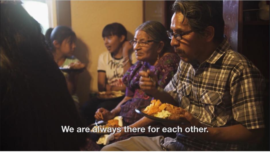 La comida es parte fundamental de sus raíces. (Captura Vimeo)