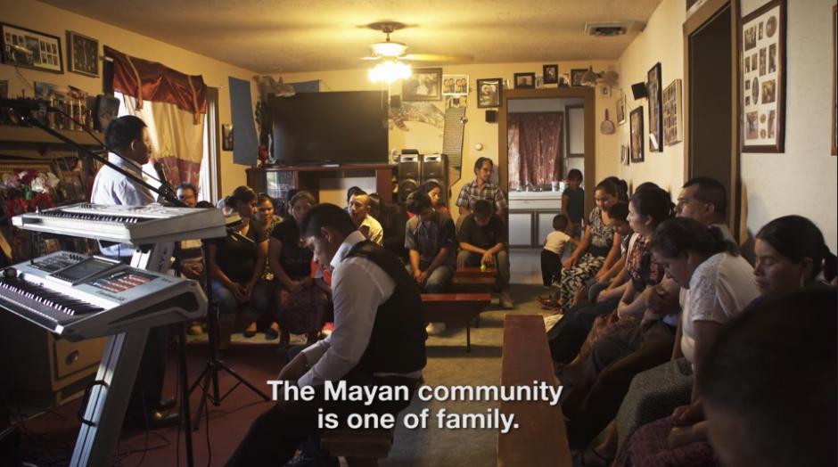 La comunidad de guatemaltecos vive en Colorado donde comparten sus tradiciones.(Captura Vimeo)