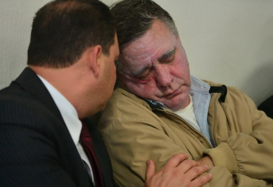 Durante la audiencia de primera declaración del caso Lago de Amatitlán, Roitman también se desmayó. (Foto: Archivo/Soy502)