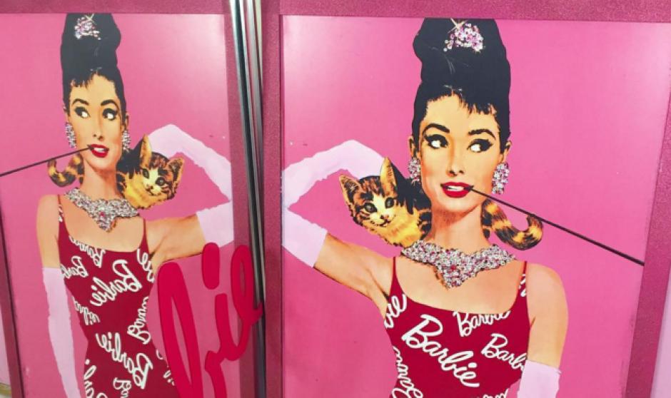 La joven asiática tiene todo tipo de objetos de Barbie. (Foto: Instagram)