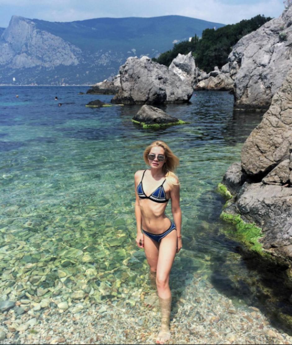 En su cuenta personal cuenta con fotos en diversos sitios turísticos por Europa. (Foto: Instagram Julia Stajiva)