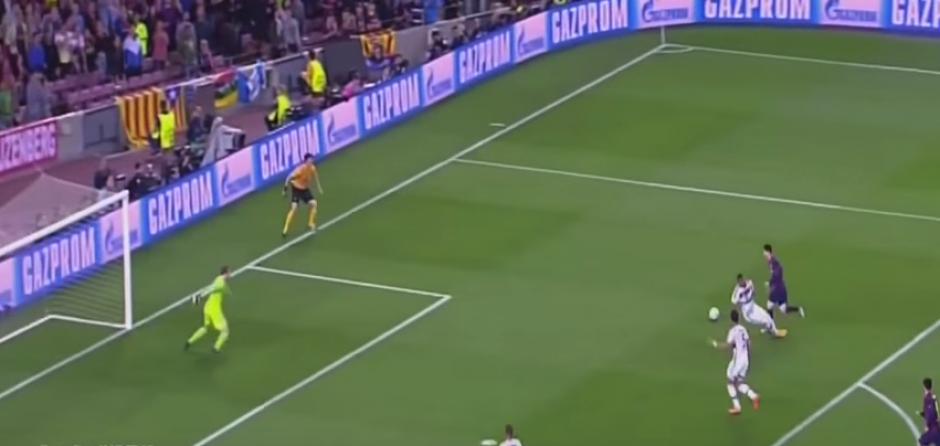 Por este gol ante el Bayern, Messi había ganado el año pasado. (Foto: Captura de Pantalla)