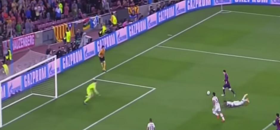 Jerome Boateng fue víctima de Messi y de las redes. (Foto: Captura de Pantalla)