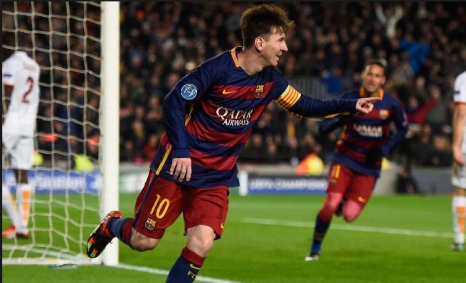 El argentino marcó después de una gran jugada con Neymar y Suárez. (Foto: espnfc.com)
