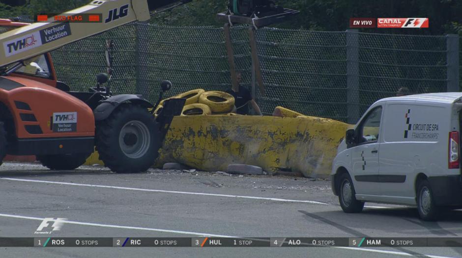 Magnussen salió por su propio pie del circuito. (Foto: F1 Latin America)