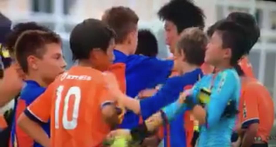 Ganaron por la mínima 0-1 al Omya japonés. (Captura de Pantalla)