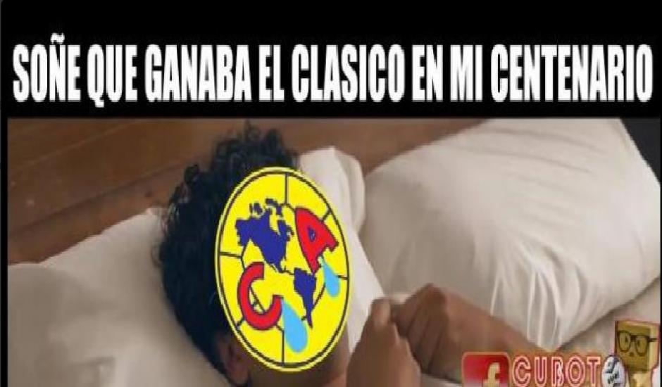 Chivas le arruinó la fiesta a las Águilas con una goleada. (Twitter)