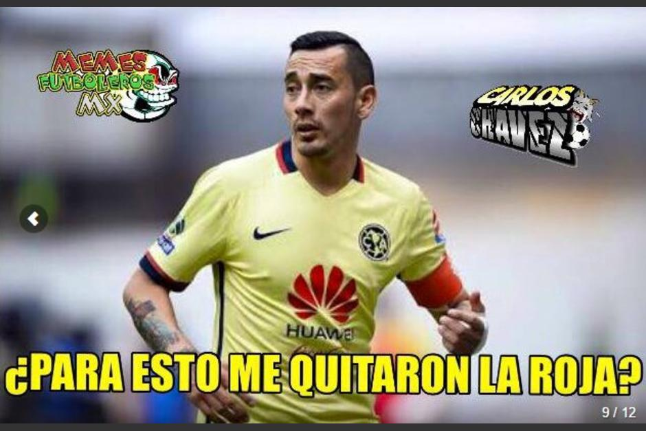Rubens Sambueza, que se salvó de una suspensión, también fue víctima de los memes. (Twitter)