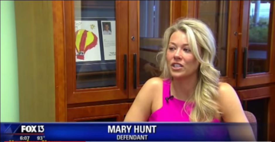 Mary Hunt es quien acusa. (Foto: Captura de Pantalla/Youtube)