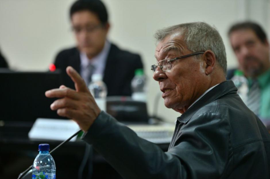Benedicto Lucas García es acusado de desaparición forzada, violación y delitos contra los deberes de la humanidad. (Foto: Wilder López/Soy502)