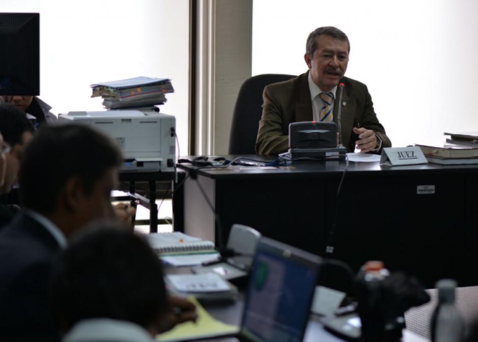 La audiencia de primera declaración se llevó a cabo en el Juzgado C de Mayor Riesgo. (Foto: Wilder López/Soy502)