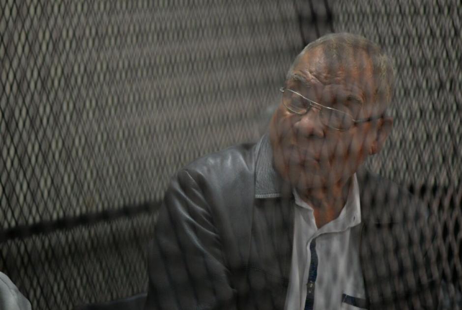 Ovalle es acusado por desapariciones forzadas durante el conflicto armado interno, junto al exjefe del Estado Mayor General del Ejército, Benedicto Lucas. (Foto: Wilder López/Soy502)