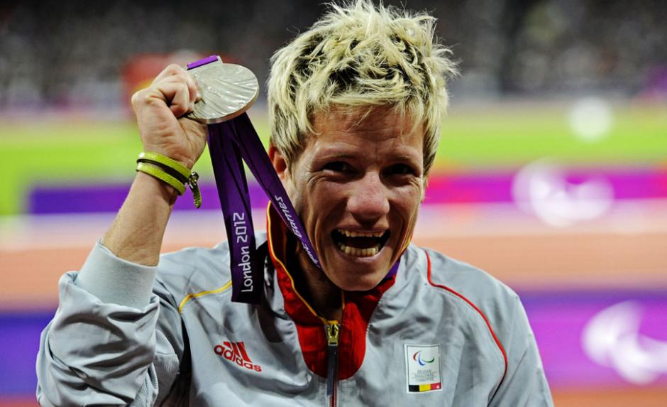 Es medallista paralímpica, y su objetivo es volver a ganar en Río. (Foto: Tribunapr.br)