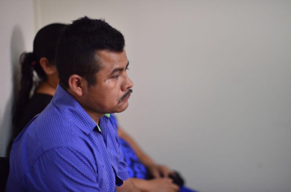 Los padres de la víctima participaron en la audiencia de reparación digna. (Foto: Jesús Alfonso/Soy502)