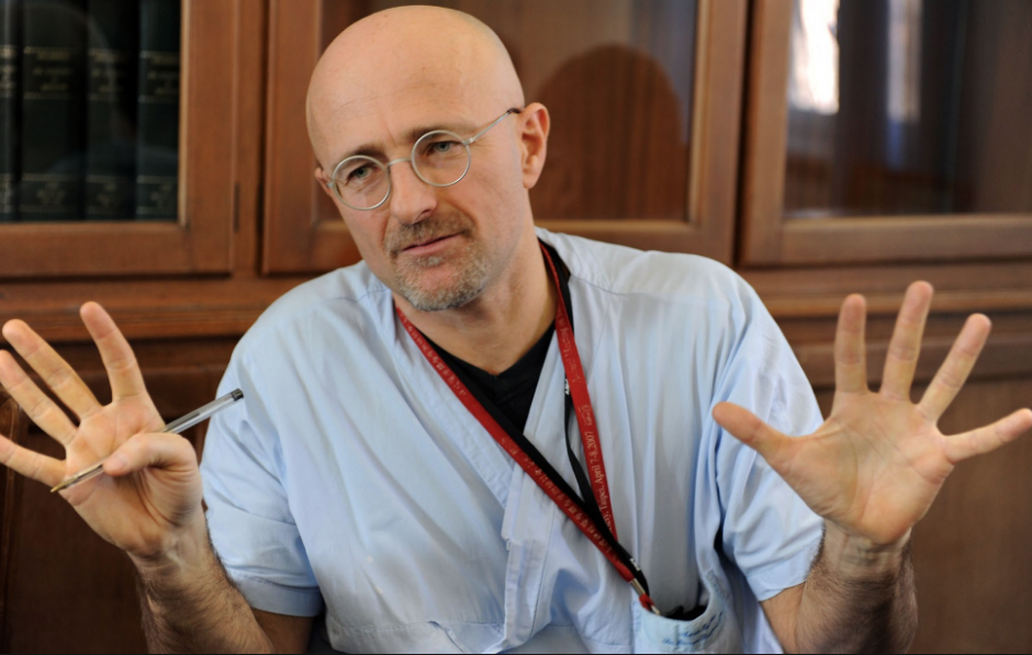 Él es el Doctor Sergio Canavero. (Foto: Huffington Post)