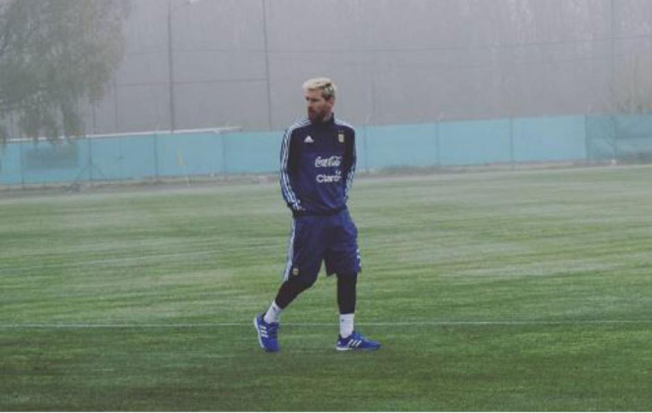 Todavía no se sabe si Leo jugará ante Uruguay. (Foto: AFA)