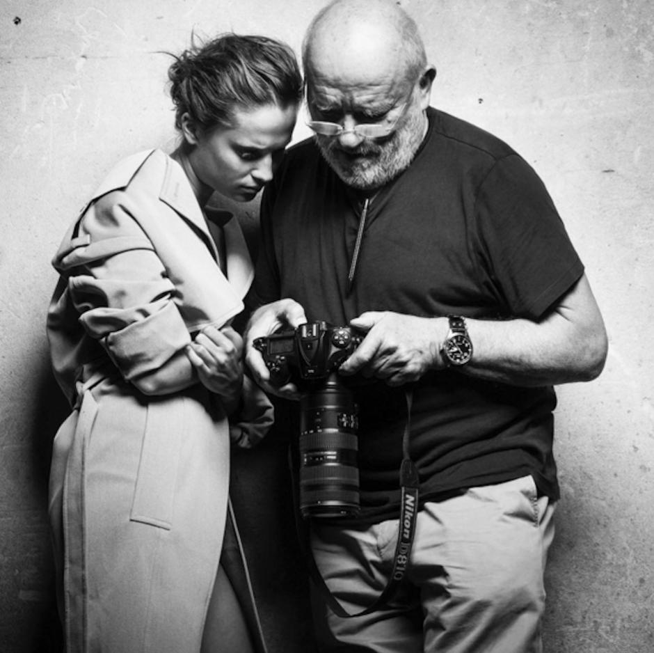 Peter Lindbergh es el primer fotógrafo invitado por 3ra vez a Pirelli. (Foto: 2bmanagement)