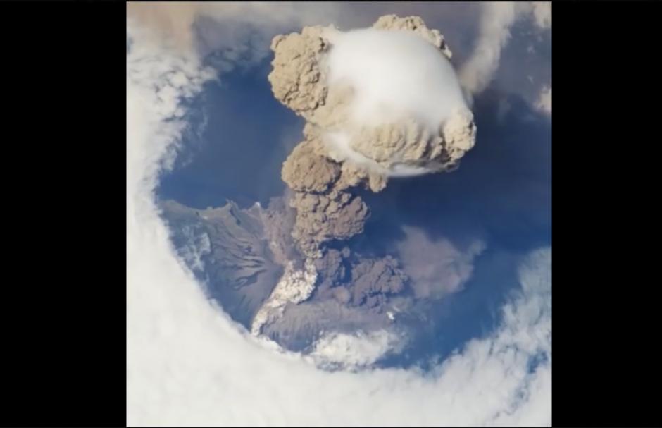 El volcán de Fuego se ha mantenido en constante actividad en lo que va del año. (Imagen: captura de video)