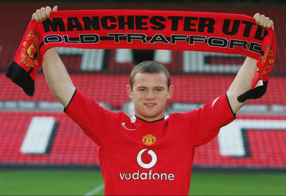 Wayne Rooney fichó por el United en el último día del mercado en 2004. (Foto: Mirror.uk)