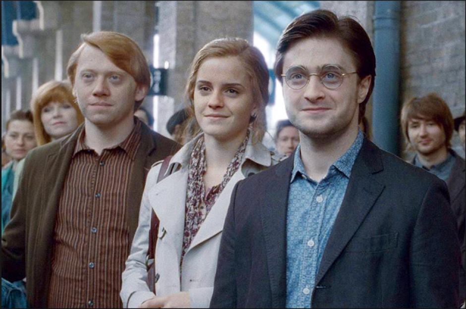 """Así se vio a los personajes """"ya viejos"""" en la última película en 2011. (Captura de Pantalla)"""