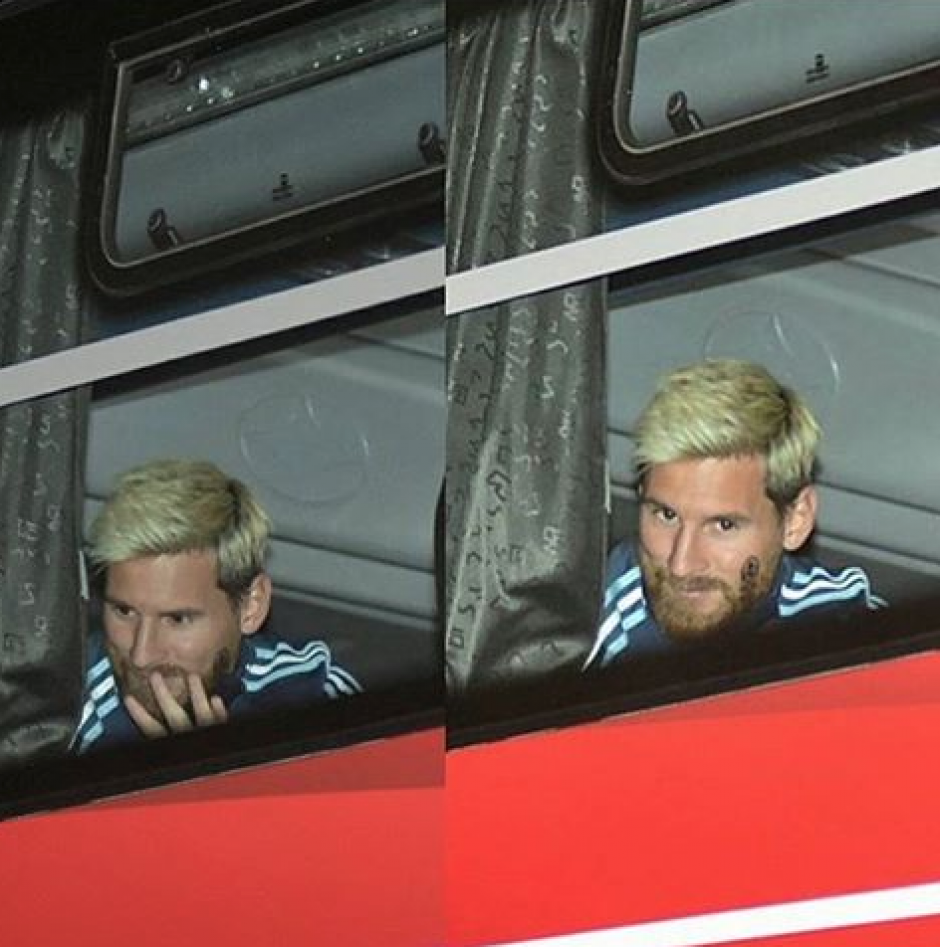 El capitán saludó a la afición desde el bus. (Foto: Twitter)
