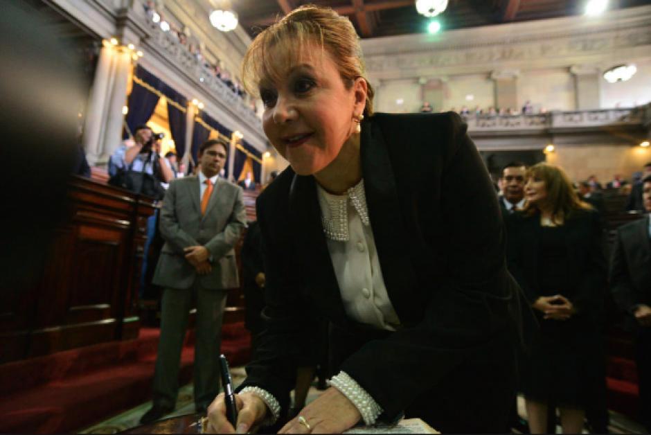 Blanca Stalling es una de las magistradas mencionadas en los mensajes de Baldetti. (Foto: Archivo/Soy502)