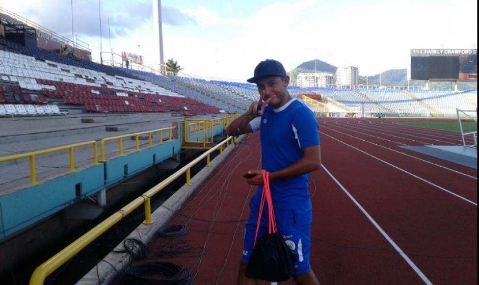 Los jugadores nacionales realizaron un entrenamiento. (Foto: Luis Barrios/Soy502)