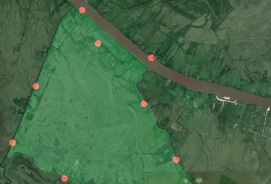 El lugar fue encontrado gracias a Google Maps. (Imagen: Captura de pantalla)