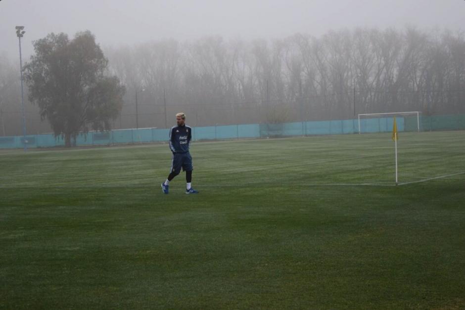"""""""Jugará los 90 minutos"""", asegura Edgardo Bauza. (Foto: AFA)"""