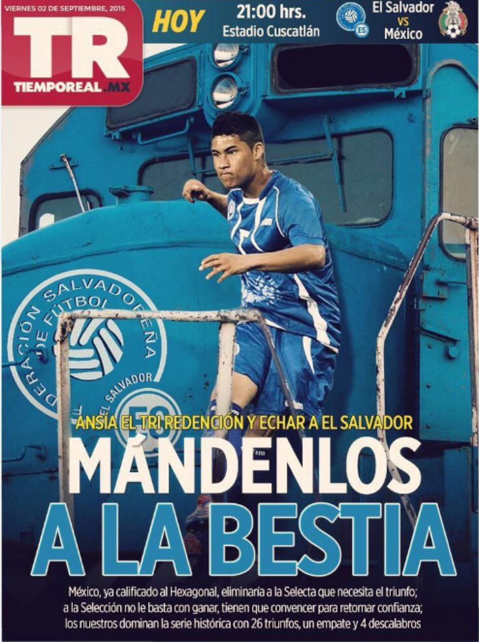 Esta es la polémica portada del diario Tiempo Real. (Foto: Internet)