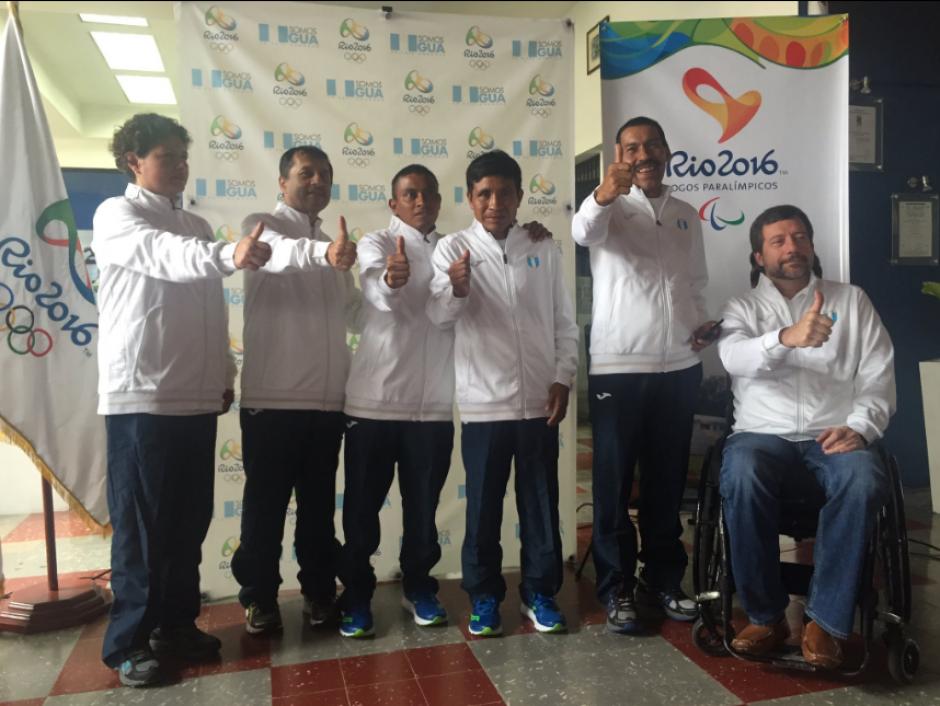 Foto oficial de la delegación que viajará a Río de Janeiro. (Foto: COG)