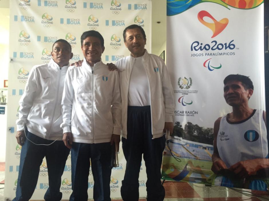Óscar Armando Raxón irá acompañado por cinco personas. (Foto: COG)