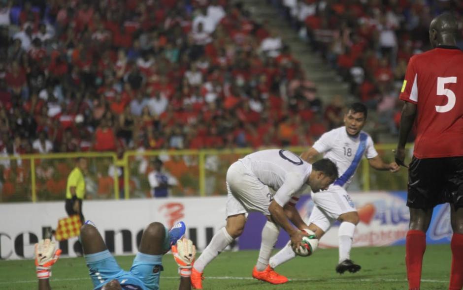 Aunque se empató el juego no le alcanza a Guatemala. (Foto: Luis Barrios/Soy502)