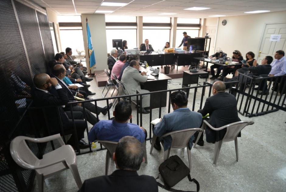 El titular del Juzgado C  de Mayor Riesgo benefició con medida sustitutiva a dos implicados en el caso Lago de Amatitlán. (Foto: Wilder López/Soy502)