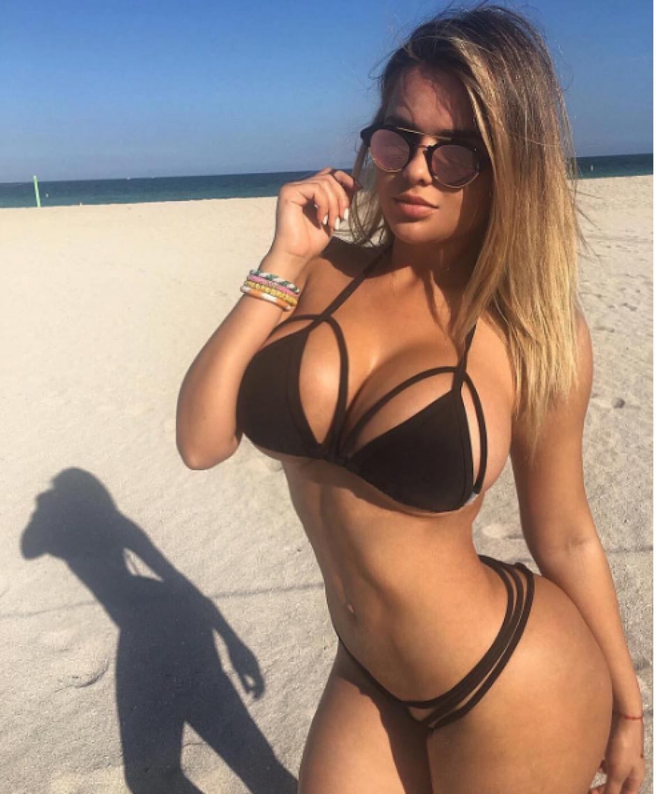 Su atractivo físico le permite ser una de las modelos más solicitadas. (Foto: Instagram Anastasia Kvitko)
