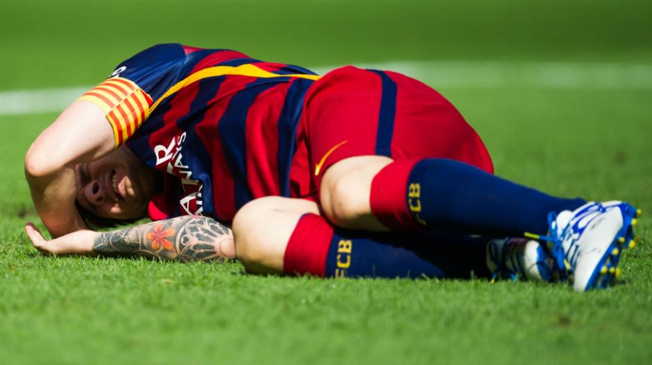 En esa ocasión, Leo estuvo casi tres meses de baja. (Foto: SkySports)