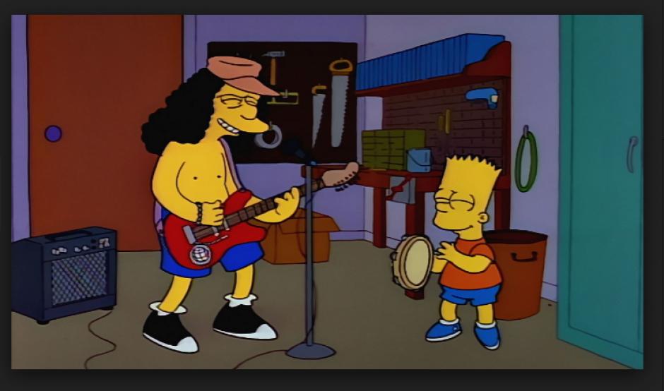 """El personaje de los Simpsons """"Otto"""" también fue utilizado para los memes.  (Foto: Twitter/@TeVeoGeek)"""