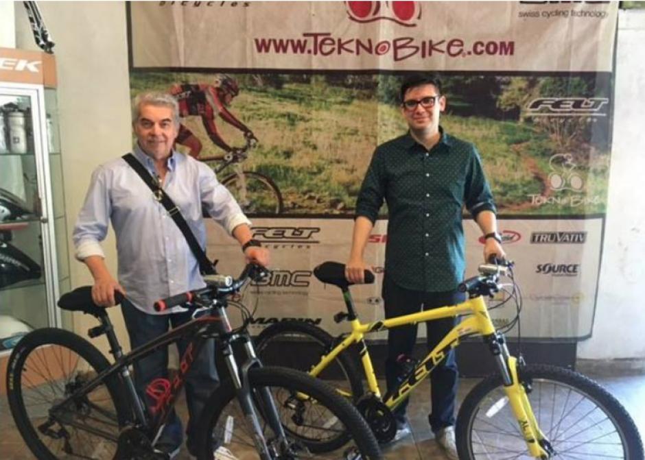 También se dio a conocer que Rabbé habría comprado una bicicleta junto a su hijo en México. (Foto: José Rendon)