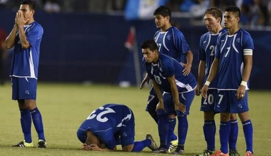 El Salvador ya no puede clasificar al Mundial... (Foto: Twitter)
