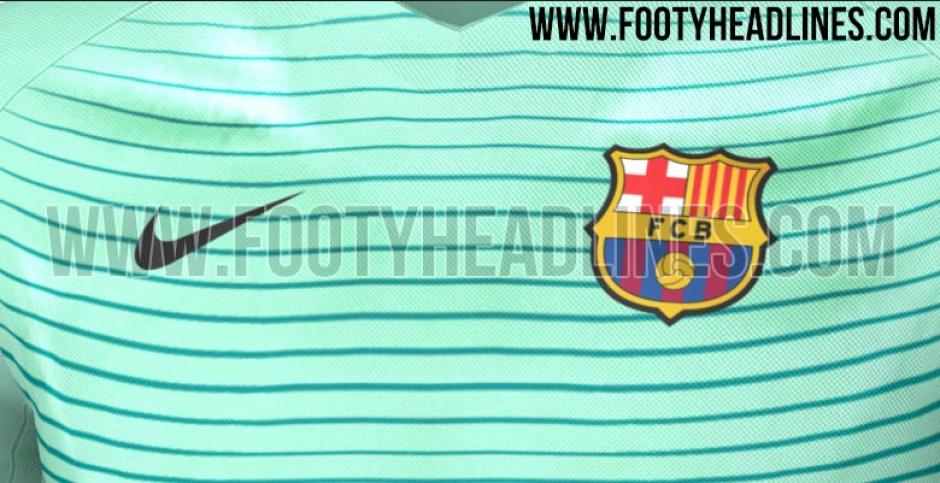El club utilizaría esta camisa en la Champions League. (Imagen: Footy Headlines)