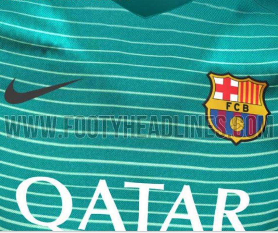 La camiseta será de una tonalidad de verde con rayas delgadas. (Imagen: Footy Headlines)