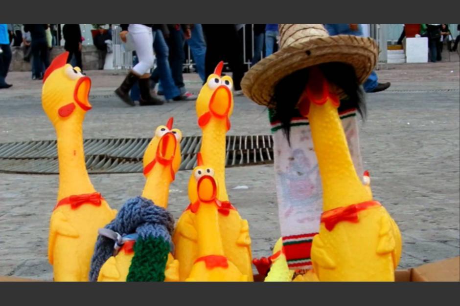 El sonido de estos pollos se hizo viral. (Foto: es.aliexpress.com)
