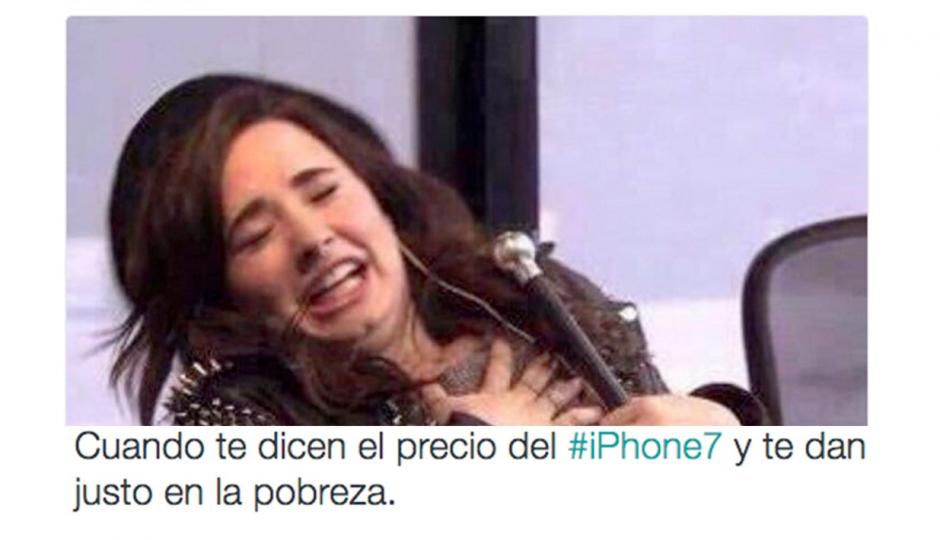 Apple presenta el iPhone y las redes se burlan. (Foto: Twitter)