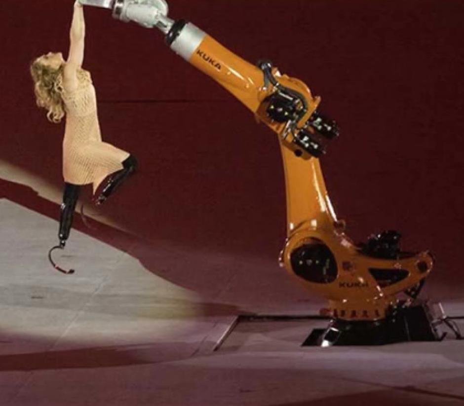 La presentación fue durante la inauguración de los Juegos Paralímpicos de Río 2016. (Imagen: Captura de pantalla)