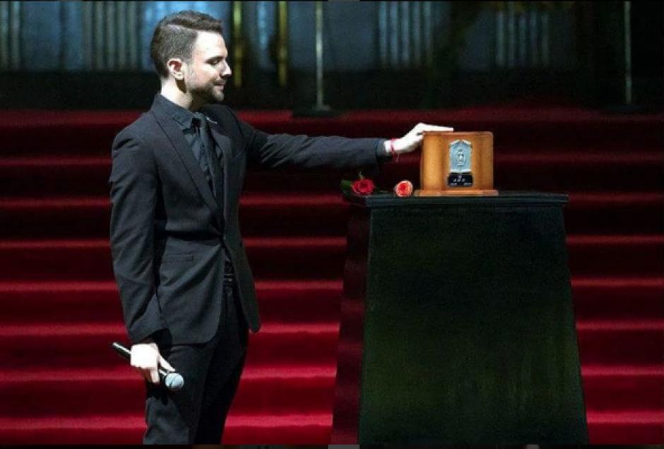 Jas Davael se despidió de Juan Gabriel en Bellas Artes en México. (Foto: Instagram)